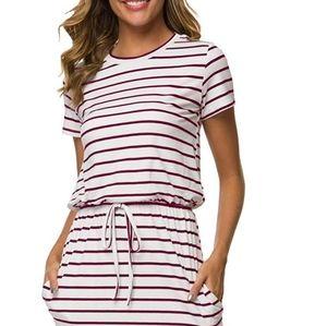 Simier Fariry Short-sleeve T-shirt Dress Size XL